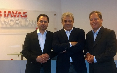 From left to right: Makram Khater, Rachid Mtaini and Rachid Kanaan