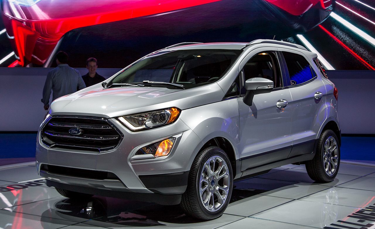 The Ford Ecosport just recently been released in the U.S. market for 2018.