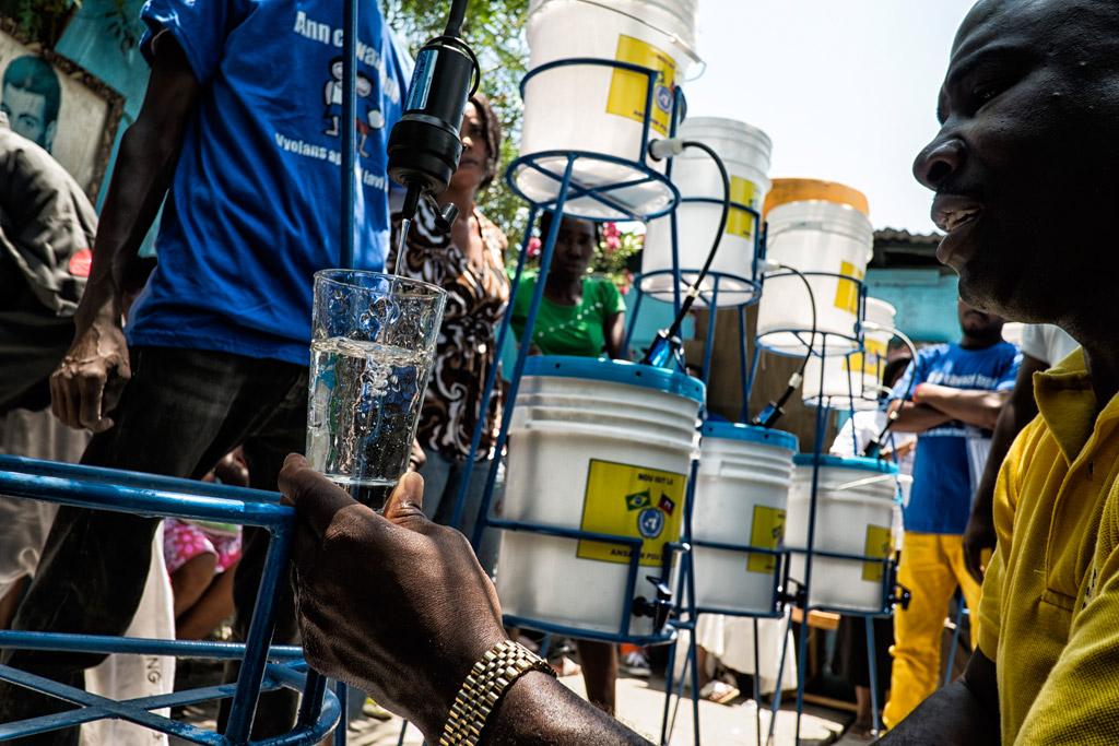 Haiti's cholera eradication effort may take 40 years to achieve.