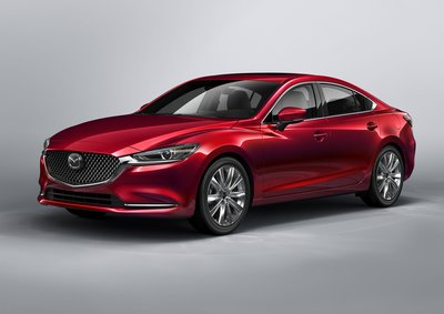 The Mazda6 also features a 360-degree View Monitor that gives drivers multiple views of the car's periphery.