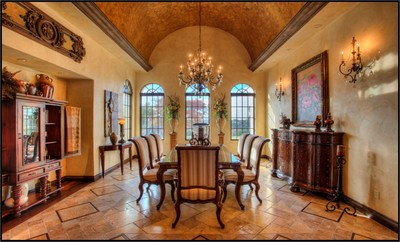 This exquisite mansion is available fully furnished.