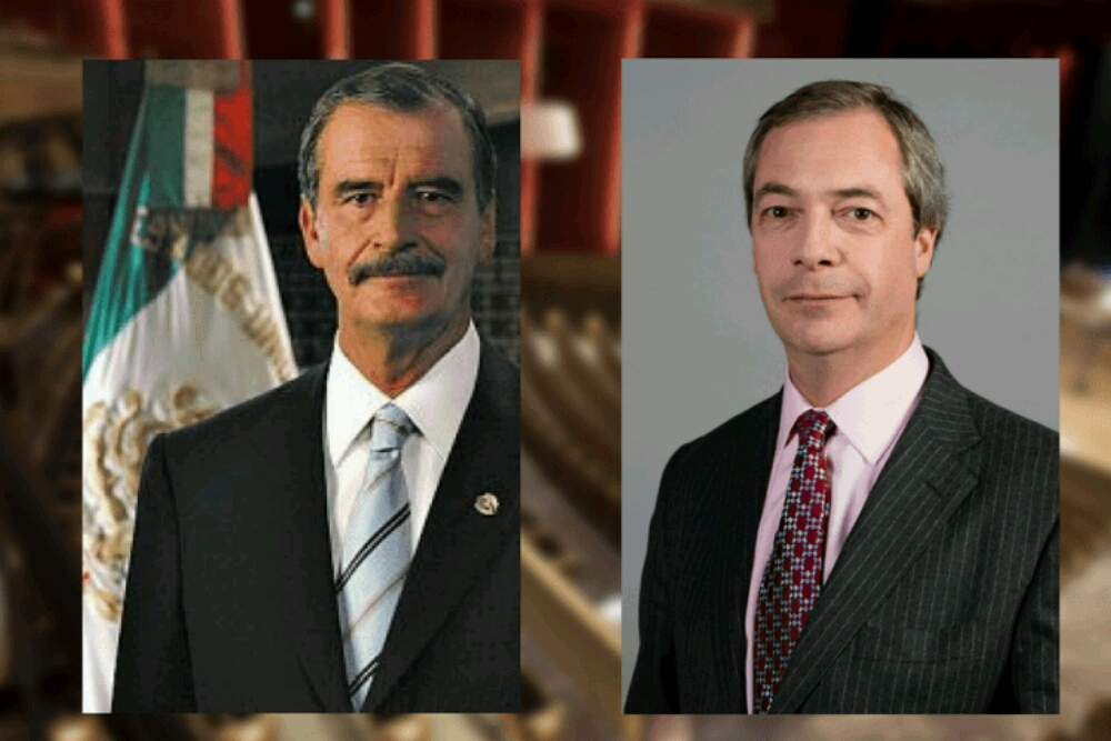 Vicente Fox and Nigel Farage