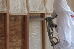 Spray foam insulation comes with a few advantages over ore traditional materials.