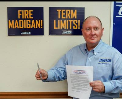 Republican candidate for state representative Doug Jameson