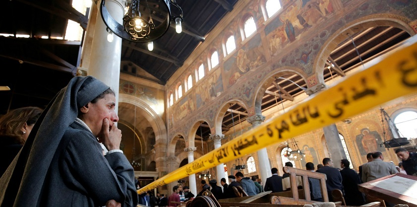 Twenty-seven people died in the Dec. 11 bombing of Saint Marks Coptic Cathedral in Cairo.