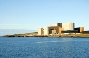 Wylfa Newydd nuclear plant site