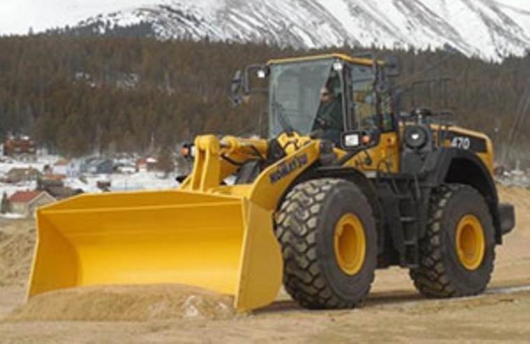 Komatsu introduced its new WA470-8 wheel loader this week.