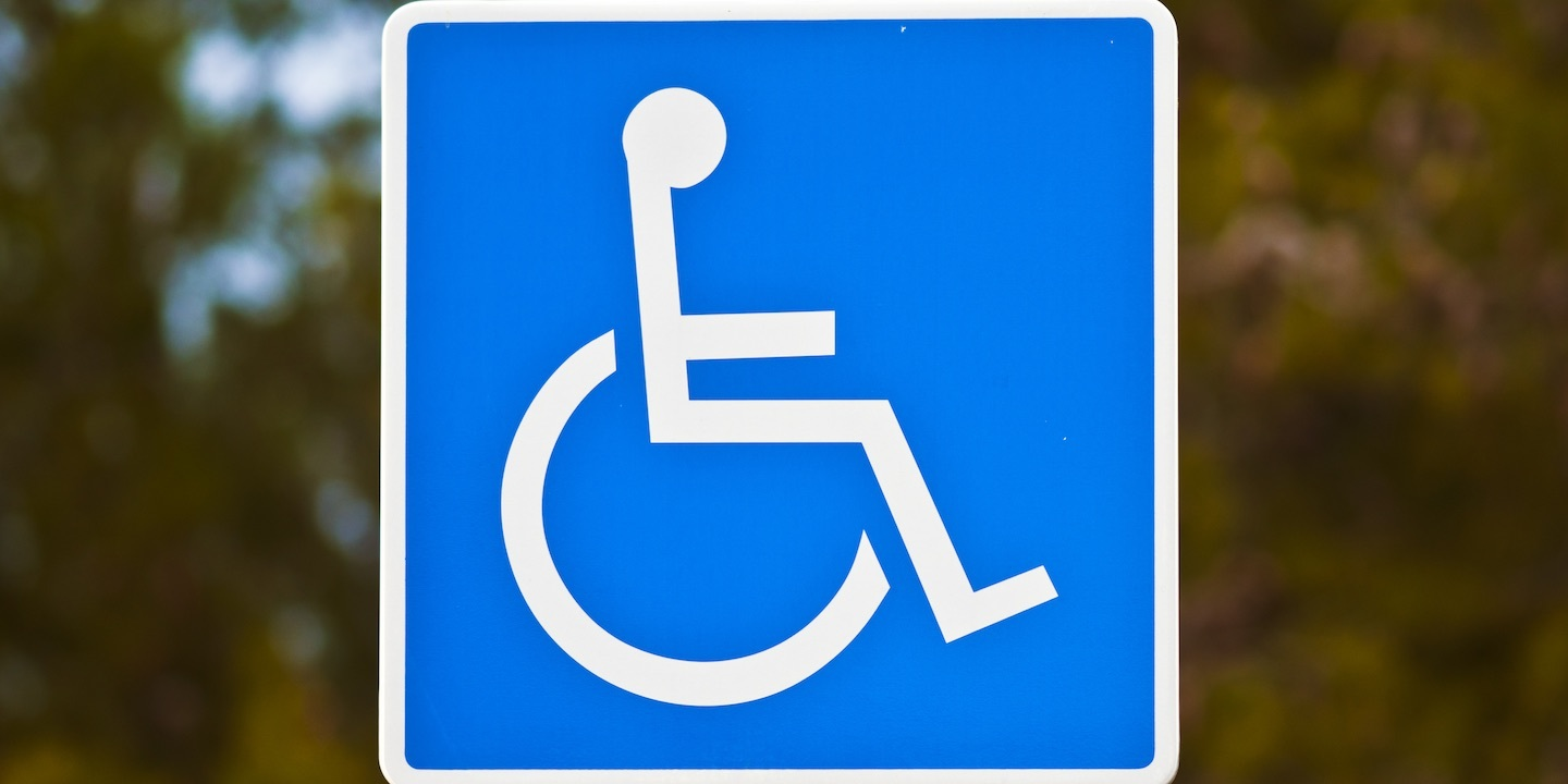 Handicapped sign 01