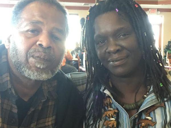 Terrilyn Gossett with husband Roderick Thomas