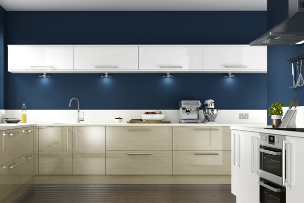 Some manufacturers have moved exclusively to LED lighting for modern kitchen design.