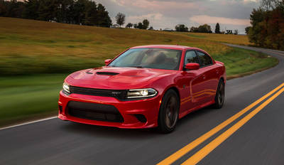 The Dodge Charger Hellcat is not only sleek and refined, it has a top speed of 204 mph.