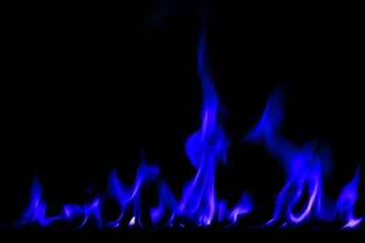 Natural gas fireplaces keep more heat inside when compared to wood fireplaces.