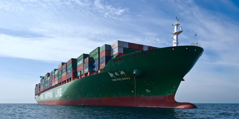 Cargo ship 09