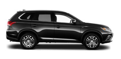 The Outlander's second row of seats has 34.2 cubic feet of space at the back, while the first row has 63.3 cubic feet of extra space at the back.