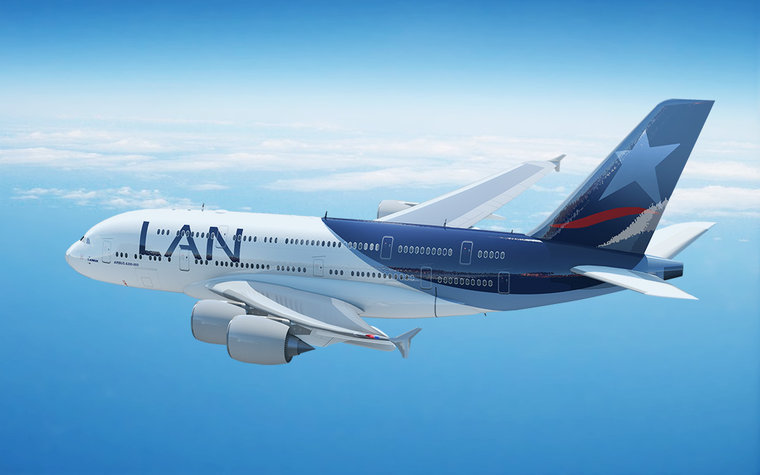 Chile-based Lan airlines