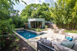 A Hyde Park backyard project by Native Edge Landscape
