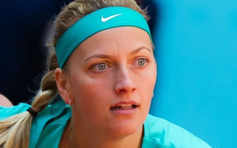 Petra Kvitova is ranked 11th in the world.