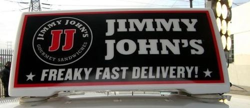 jimmy johns delivery driver
