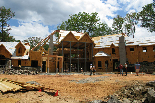 With a custom home project, it is bet to have all team players on board before construction begins.