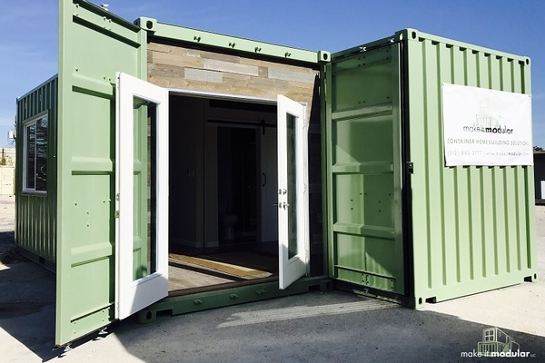 """The """"Make It Modular"""" showcase will feature models of durable, sustainable container homes."""