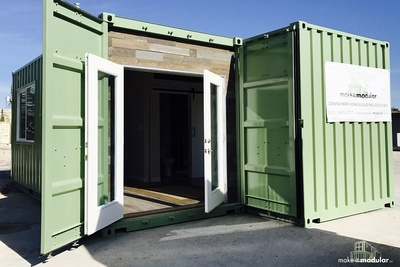 "The ""Make It Modular"" showcase will feature models of durable, sustainable container homes."