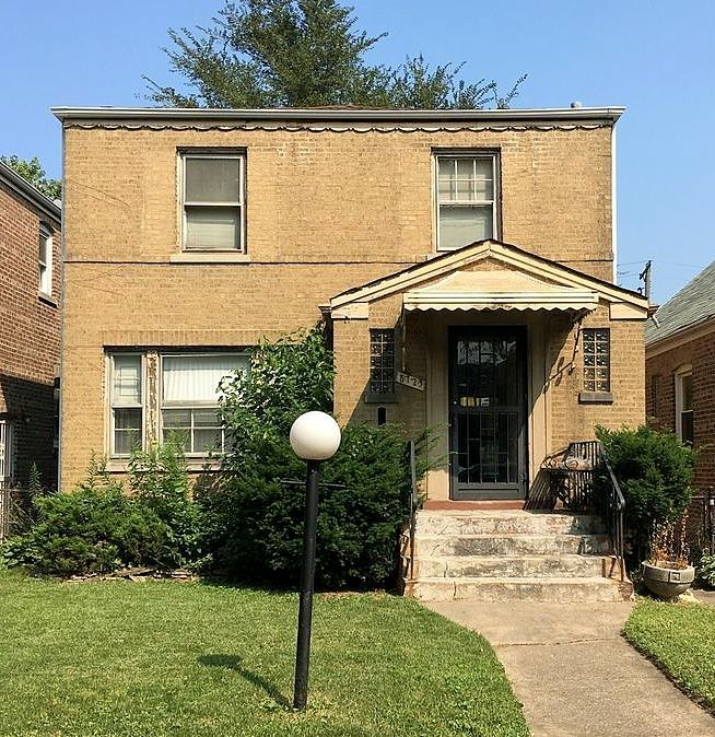 The house located at 8725 S. Merrill Ave. in Calumet Heights, currently offered for $85K, had a 2016 property tax value of $2,429.
