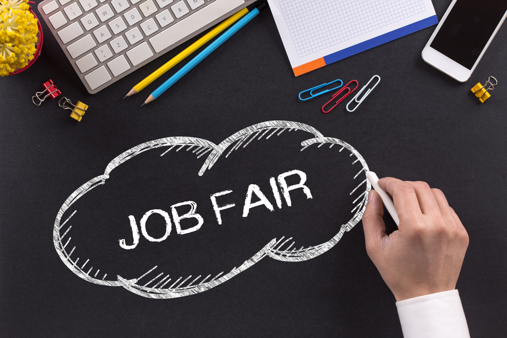 Experts recommend recruiters attend as many job fairs as possible.