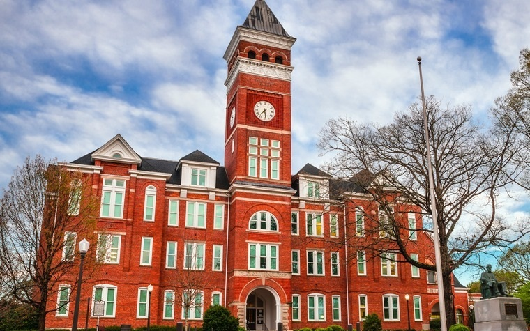 Clemson students can select from approximately 80 undergraduate degree programs and 110 graduate degree programs.