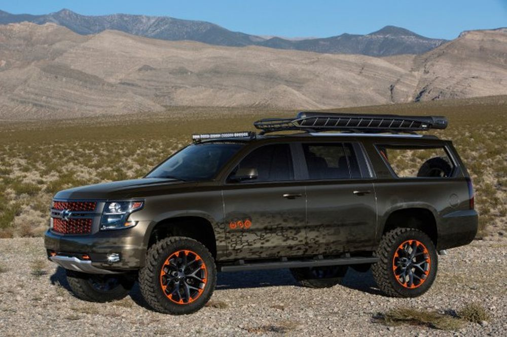 Chevy asked Luke Bryan to develop a wish list for an ideal outdoor vehicle.