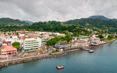 The island of Dominica