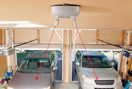 The Maxsa 37312 dual laser-guided parking system