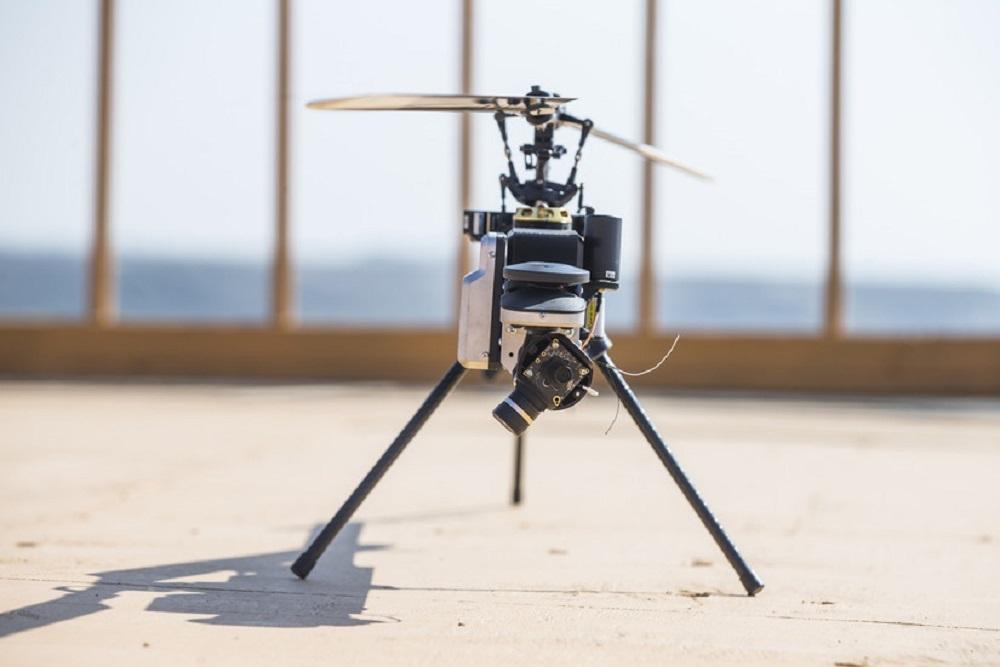 Lattice Modular Heli-Drone