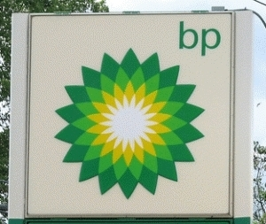 Large bp sign