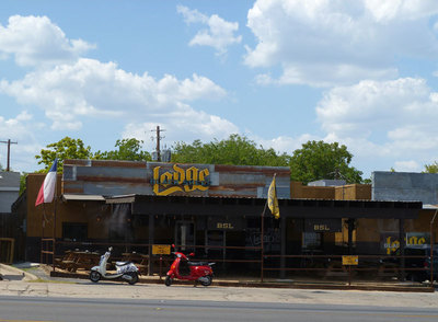 South Lamar boasts one of the best bar districts around.