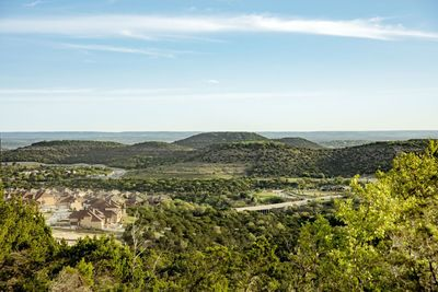 Many Sweetwater homesites offer views of trails and natural open space in the community. The Hill Country terrain has dramatic bluffs, canyons and ridges, along with seasonal creeks and waterfalls.