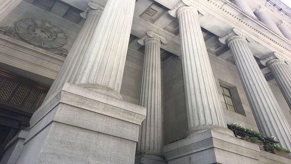Large courthouse