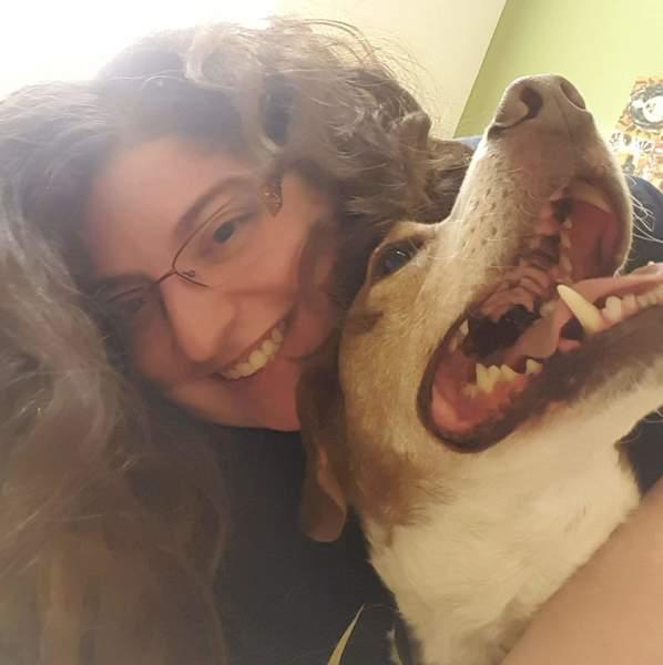 Veterinary technician Mariah Foy at Helping Strays of Monroe County