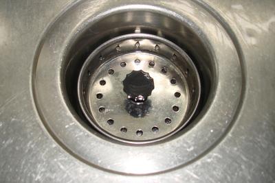 Medium kitchen sink drain