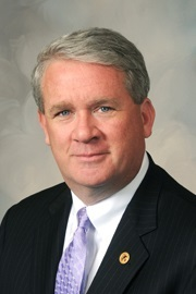 House Republican Leader Jim Durkin earns money helping state and local governments borrow money.