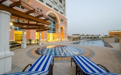 A 1,1625 square foot apartment is available in Viva Bahriya at The Pearl.