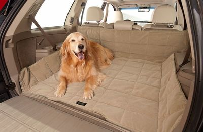 A cozy cargo liner will keep your pet happy and your cargo area clean.