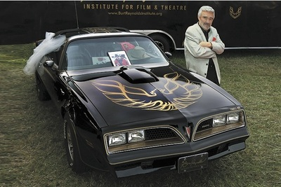 Burt Reynolds attended the recent Barrett-Jackson auction where a promotional Trans Am for the movie