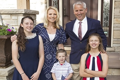 GOP candidate Ammie Kessem and her family