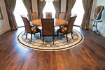 Mesquite can be an elegant and sustainable option for hardwood flooring.