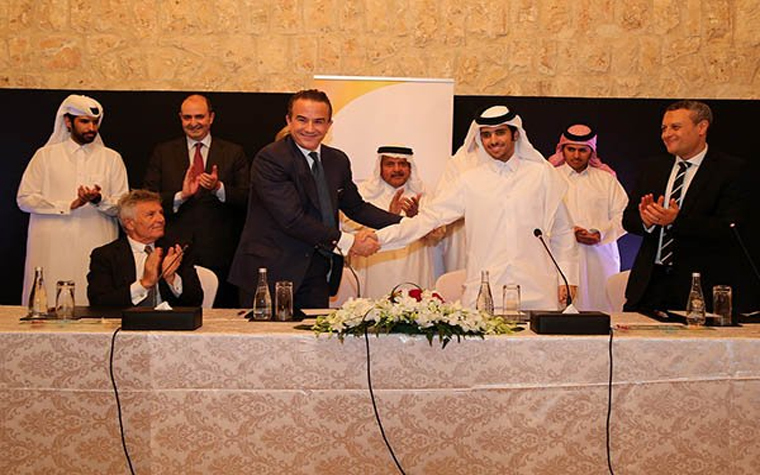 Al Sawari for Industries and Uniform Italia signed a memorandum of understanding last week to form a joint venture.