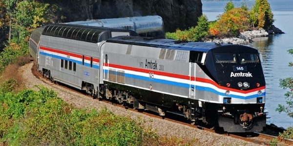 Large amtrak