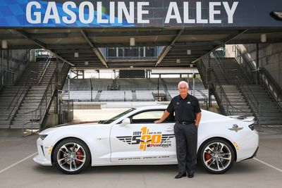Roger Penske is no stranger to Indianapolis Motor Speedway. It is perhaps fitting that heÕs driving the Camaro pace car for the 100th running of the event.