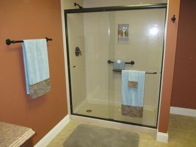 Safe Showers can help prevent falls, other injuries.