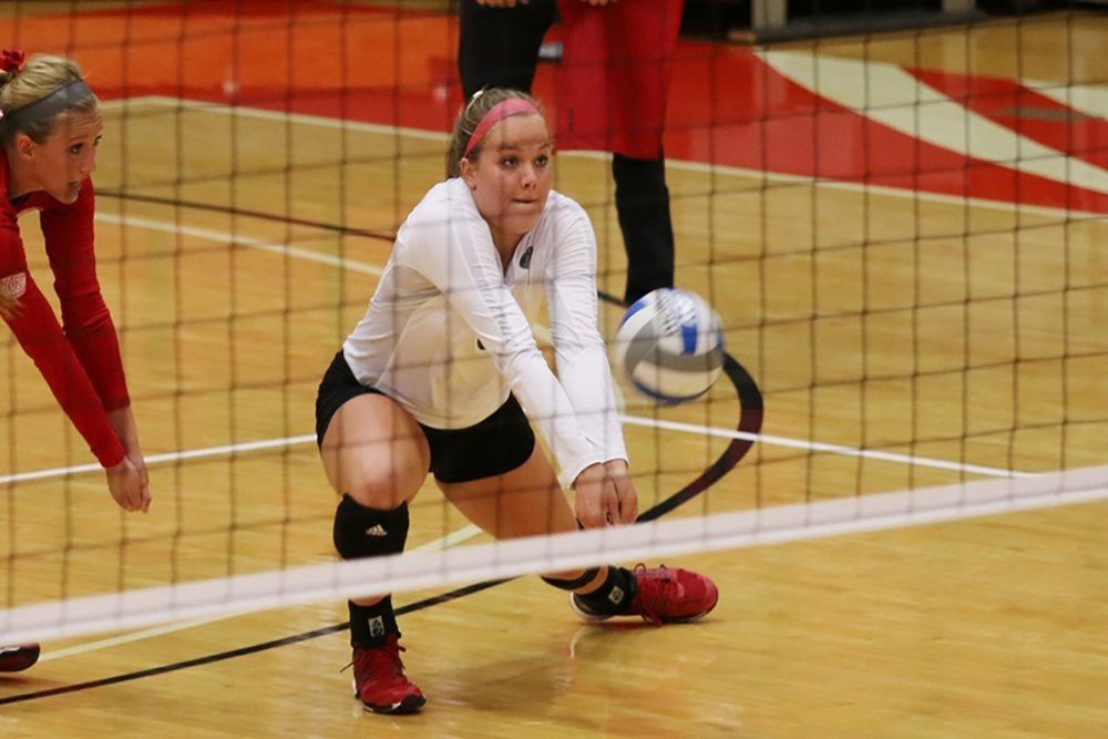 The SIUE volleyball team finished the regular season with a 23-6 record.