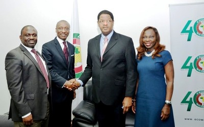 Marcel de Souza and his team from the ECOWAS Commission underscored the bank's prominent position.